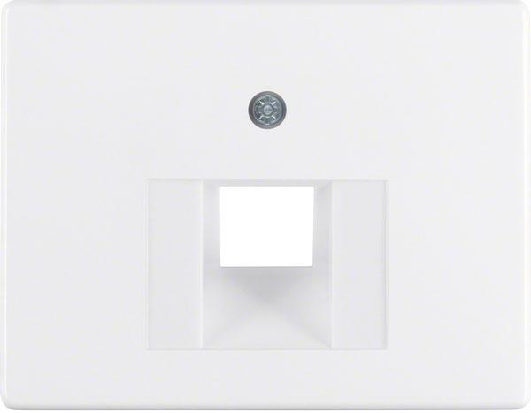 BERKER 14070069 Abdeckung für ISDN und Netzwerkdose