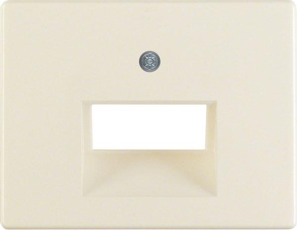 BERKER 14090002 Abdeckung für ISDN/Netzwerkdose 2-fach