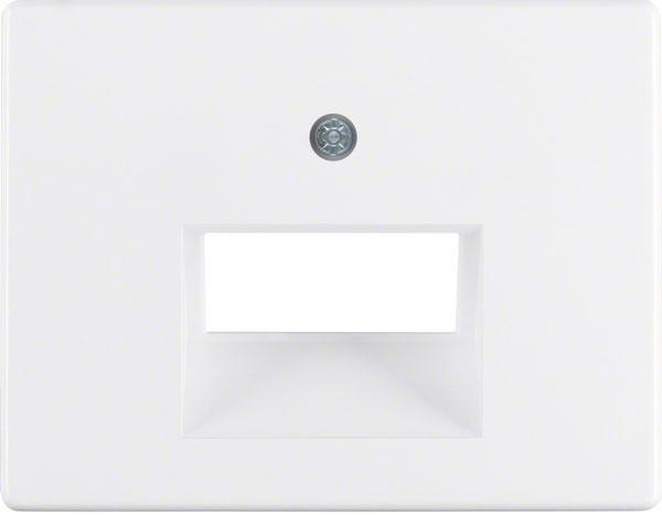 BERKER 14090069 Abdeckung für ISDN/Netzwerkdose 2-fach