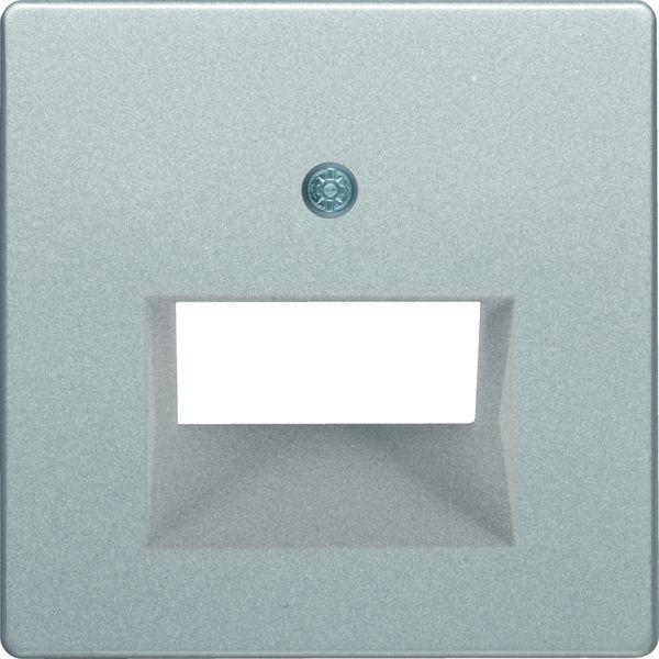 BERKER 14096084 Abdeckung für ISDN/Netzwerkdose 2-fach
