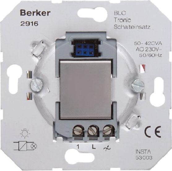 berker 2916 blc tronic schalteinsatz online kaufen im voltus elektro shop. Black Bedroom Furniture Sets. Home Design Ideas