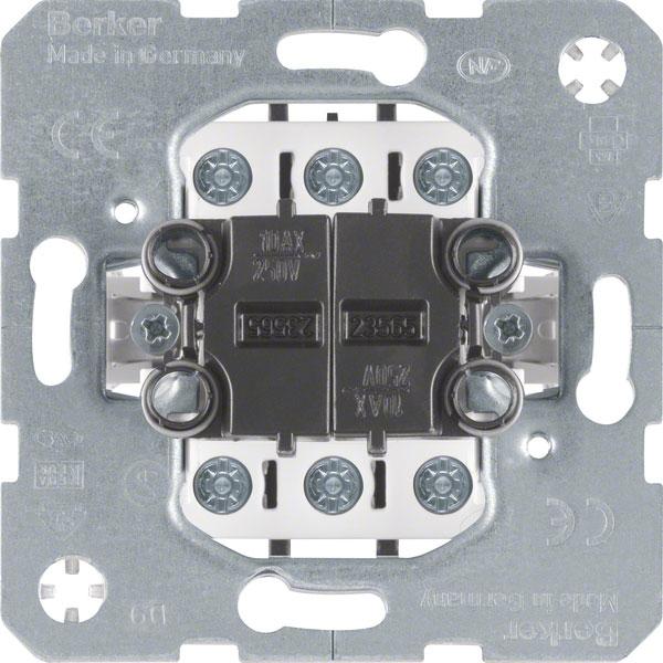 berker 303808 doppel wechselschalter online kaufen im. Black Bedroom Furniture Sets. Home Design Ideas