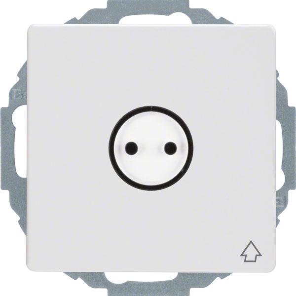 berker 47446049 schuko steckdose mit klappdeckel online kaufen im voltus elektro shop. Black Bedroom Furniture Sets. Home Design Ideas