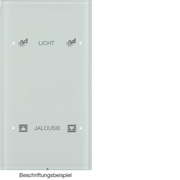 BERKER 75142150 Touch-Sensor 2fach Komfort konfiguriert