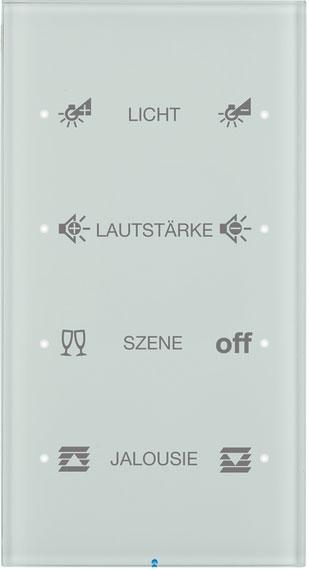 BERKER 75144150 Touch-Sensor 4fach Komfort konfiguriert