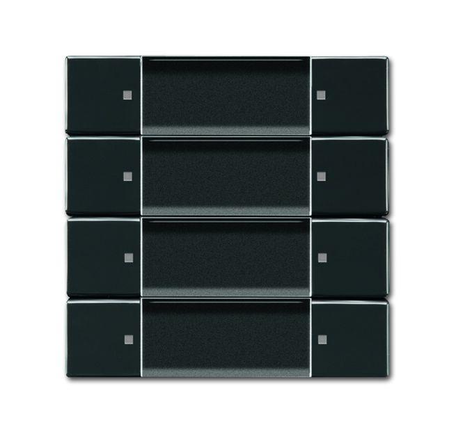 busch jaeger 6737 01 81 wandsender zigbee light link 4 kanal anthrazit online kaufen im voltus. Black Bedroom Furniture Sets. Home Design Ideas