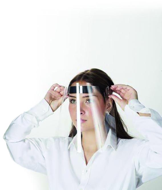 CIMCO 47600 Schutzvisier inkl. Kopfhalterung