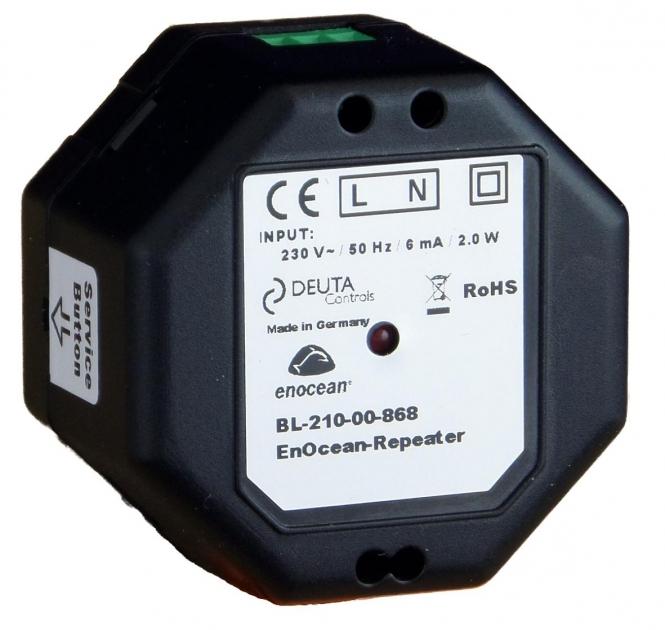 DEUTA Controls 10986 BL-210-00-868 EnOcean-Repeater