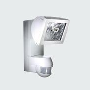 esylux af150 200i halogenstrahler 150 watt mit integriertem bewegungsmelder weiss online kaufen. Black Bedroom Furniture Sets. Home Design Ideas