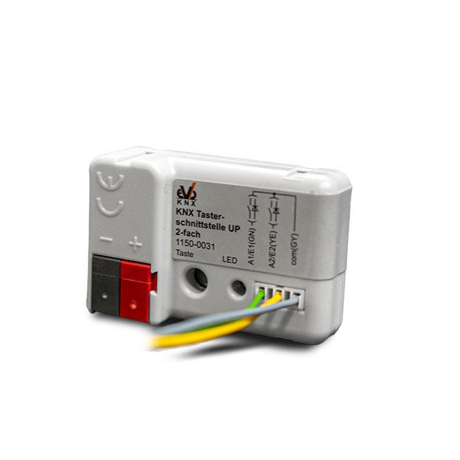 EVOKNX 1150-0031 BE-2UP KNX Tasterschnittstelle 2-fach