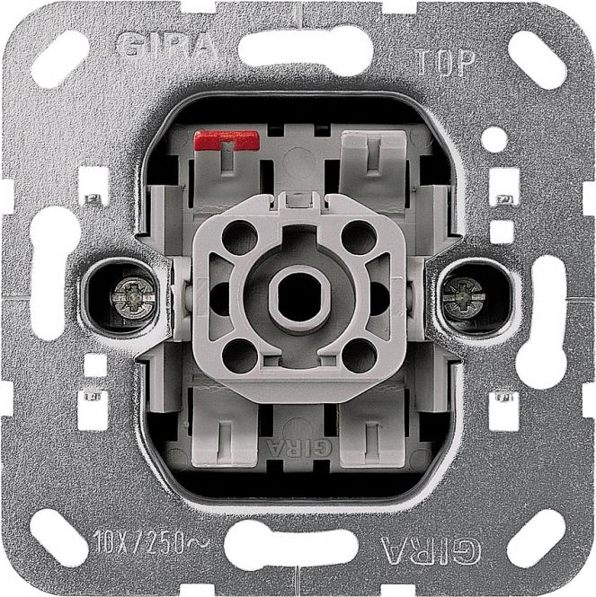 GIRA 010600 Einsatz Wippschalter 10 AX 250 V~ Universal-Aus-Wechselschalter