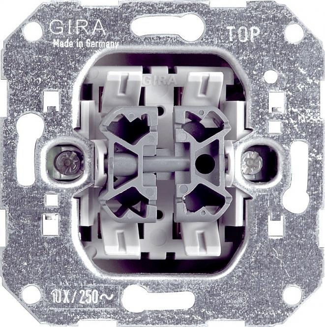 Gira 010800 Wippschalter Einsatz Wechsel Wechsel