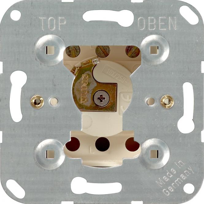 GIRA 016300 Einsatz Schlüsselschalter 10 AX 250 V~ Taster 1-polig
