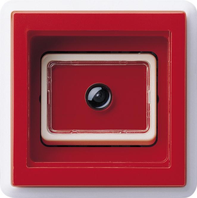 gira 016803 notruf taster komplett mit abdeckrahmen rot online kaufen im voltus elektro shop. Black Bedroom Furniture Sets. Home Design Ideas
