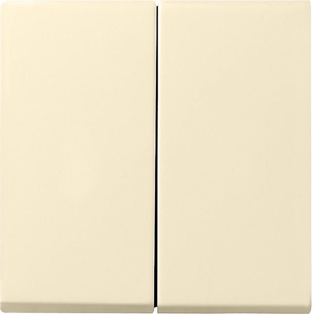 GIRA 026601 Serienwippe komplett mit Dichtungsset Cremeweiß glänzend