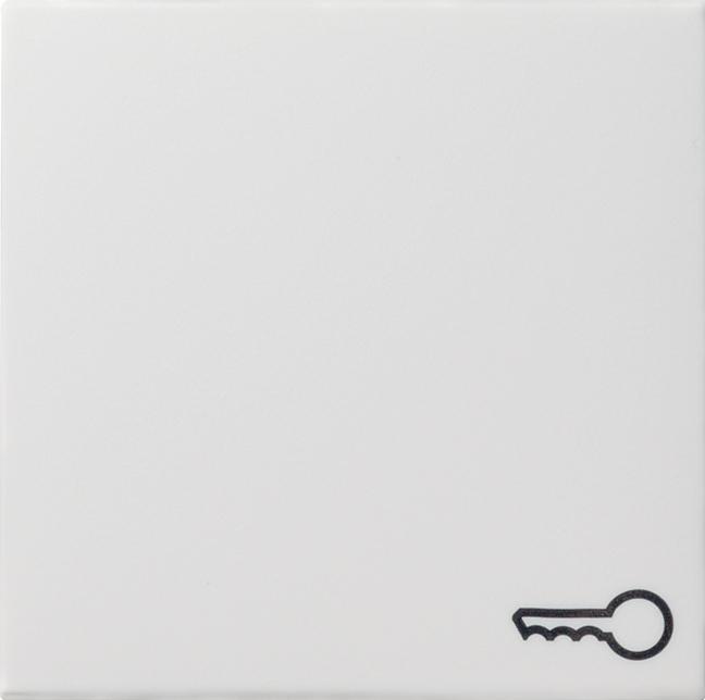 GIRA 028703 Wippe mit Symbol -Tür- Reinweiß glänzend