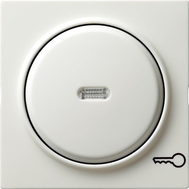 GIRA 028740 Kontrollwippe mit Symbol -Tür- Reinweiß