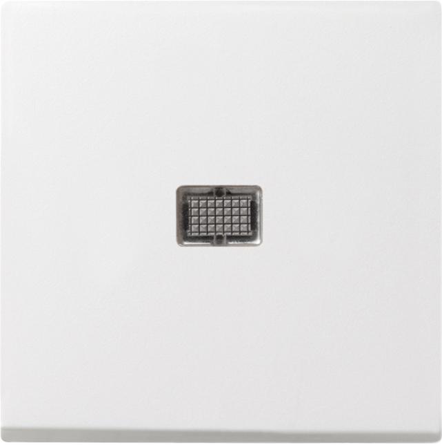 GIRA 029803 Wippe mit großem Kontrollfenster Reinweiß glänzend