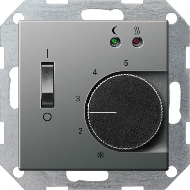 gira 039420 raumtemperatur regler f r elektrische fussbodenheizung sensor online kaufen im. Black Bedroom Furniture Sets. Home Design Ideas