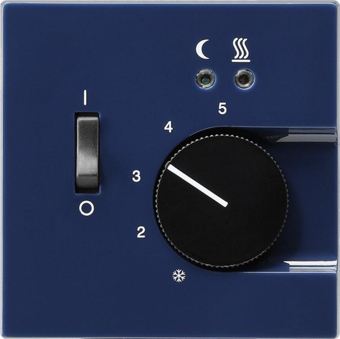 gira 039446 raumtemperatur regler 230v f r elektrische fu bodenheizung blau online kaufen im. Black Bedroom Furniture Sets. Home Design Ideas