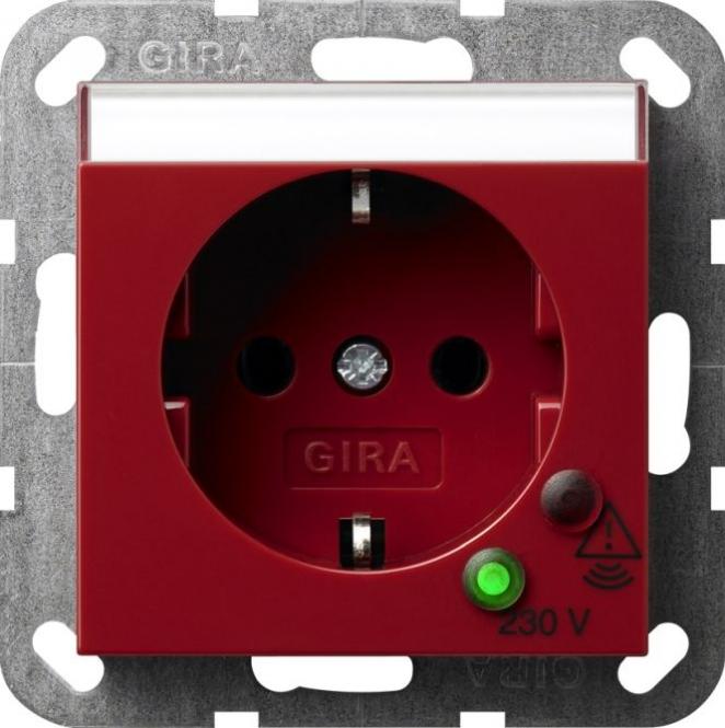 GIRA 045102 SCHUKO-Steckdose mit Überspannungsschutz