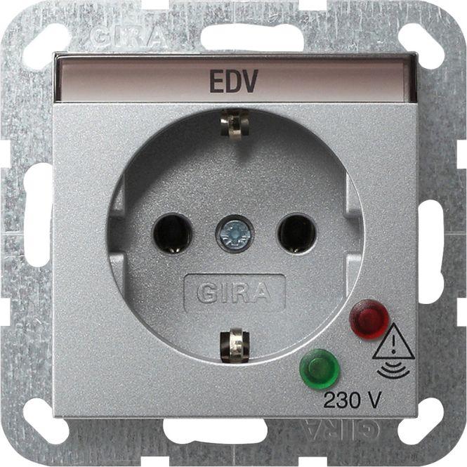 GIRA 045126 SCHUKO-Steckdose mit Überspannungsschutz