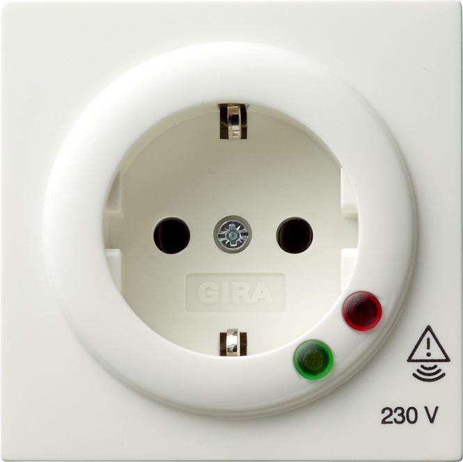 GIRA 045140 SCHUKO-Steckdose mit Überspannungsschutz