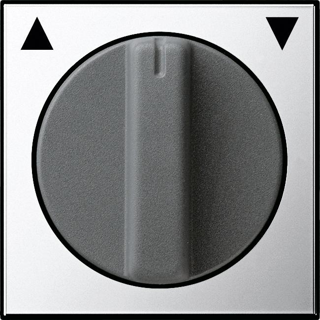 GIRA 0666605 Abdeckung mit Knebel Chrom