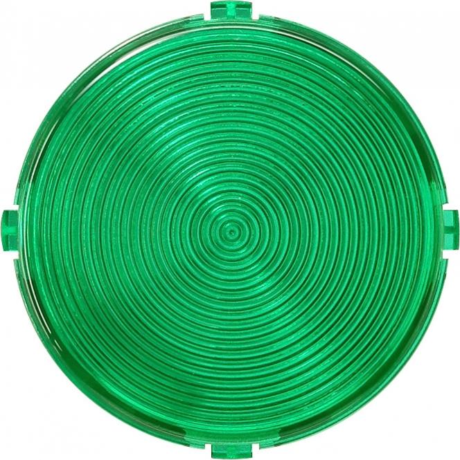 Gira 080302 Flache Abdeckhaube steckbar fuer Lichtsignal Grün