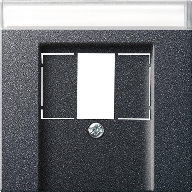 gira 087628 tae und usb abdeckung anthrazit online kaufen im voltus elektro shop. Black Bedroom Furniture Sets. Home Design Ideas
