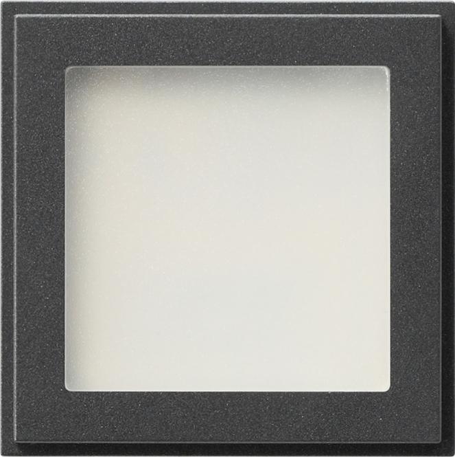 gira 116267 led orientierungsleuchte mit blauer led beleuchtung anthrazit online kaufen im. Black Bedroom Furniture Sets. Home Design Ideas