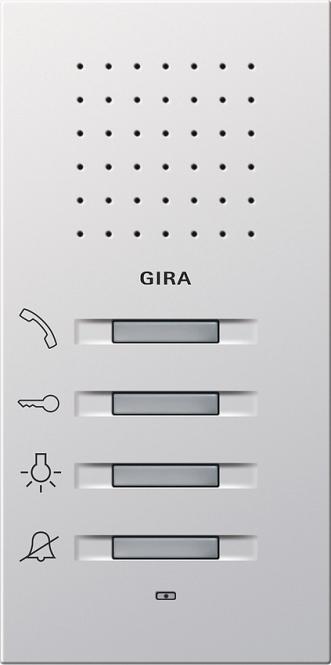 GIRA 1250112 Wohnungsstation AP Freisprechen