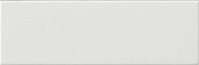 GIRA 125566 Ruftastenabdeckung für Ruftaster 3fach Reinweiß