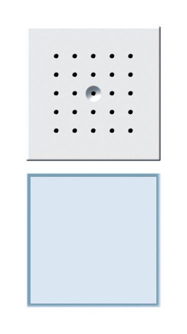GIRA 126066 Türstation 1fach Unterputz Wassergeschützt IP44 TX_44 Reinweiß