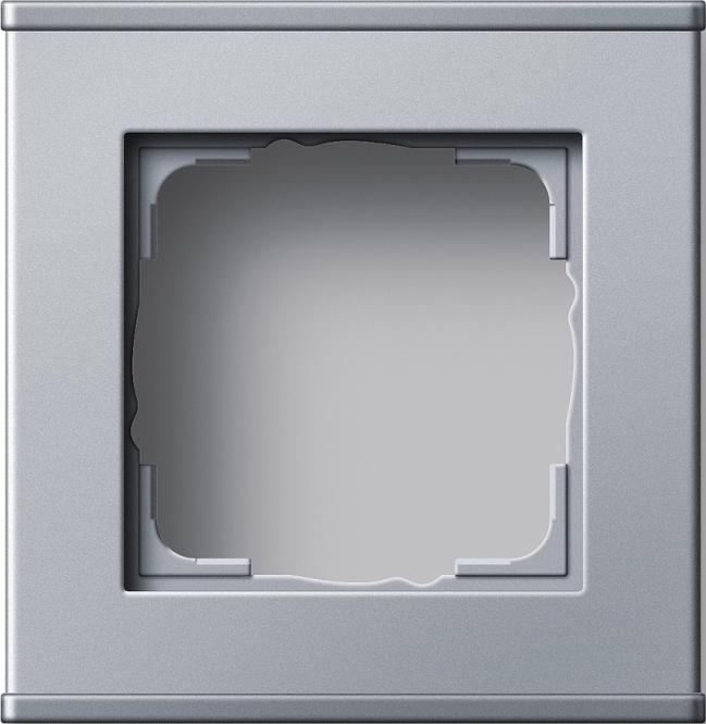 GIRA 136126 Profil 55 1fach für senkrechte und waagerechte Installation 1 fach