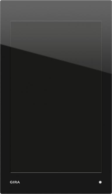 GIRA 206905 KNX G1 Power over Ethernet Anschlussmodul Glas, schwarz