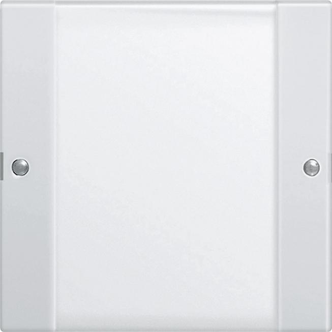 GIRA 213103 Wippenset 1fach mit Beschriftungsfeld Klar/Reinweiß glänzend