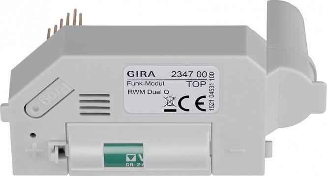 GIRA 234700 Funk Modul für Rauchwarnmelder Dual