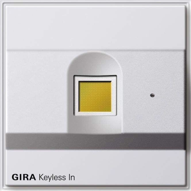 gira 260766 keyless in fingerprint leseeinheit online. Black Bedroom Furniture Sets. Home Design Ideas