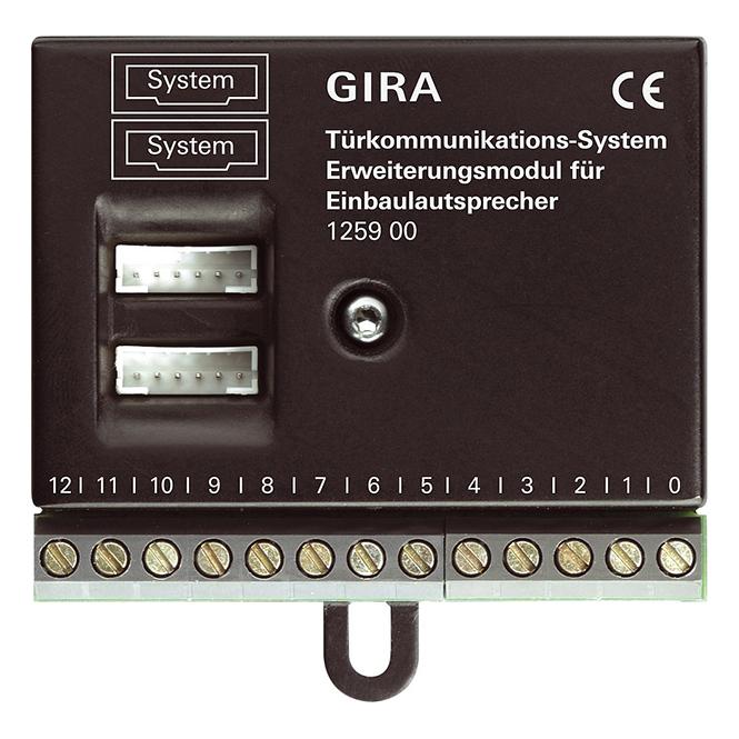 GIRA 125900 Erweiterungsmodul für Einbaulautsprecher