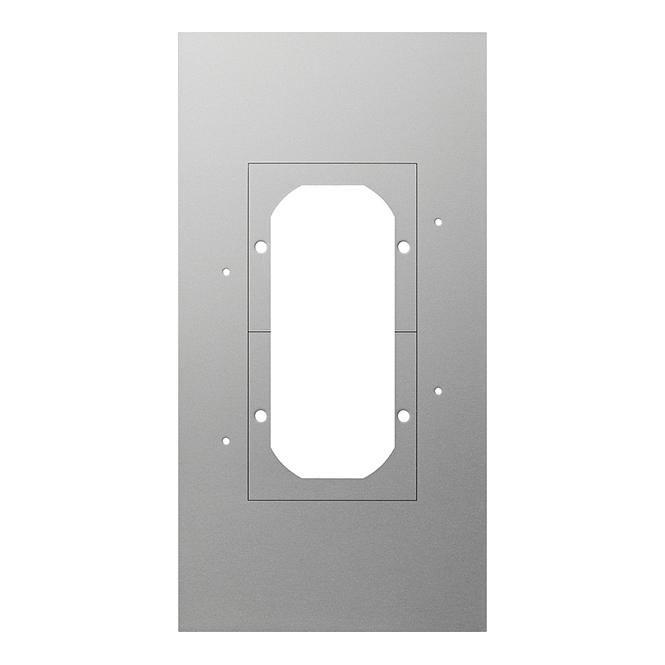 GIRA 129700 Montageplatte für Türstation 2-fach