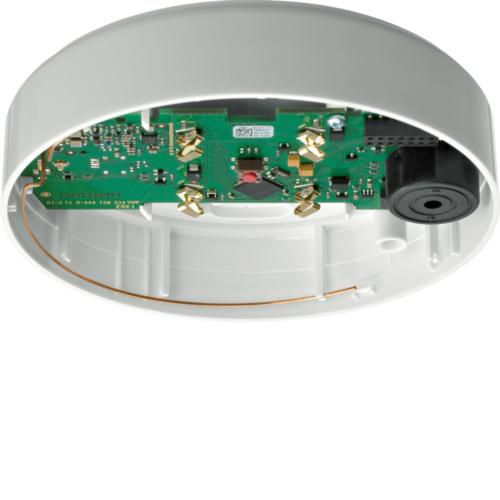 HAGER RFA110D BEKA Meldersockel mit Sirene, ohne Sensorkopf für RFM10xD
