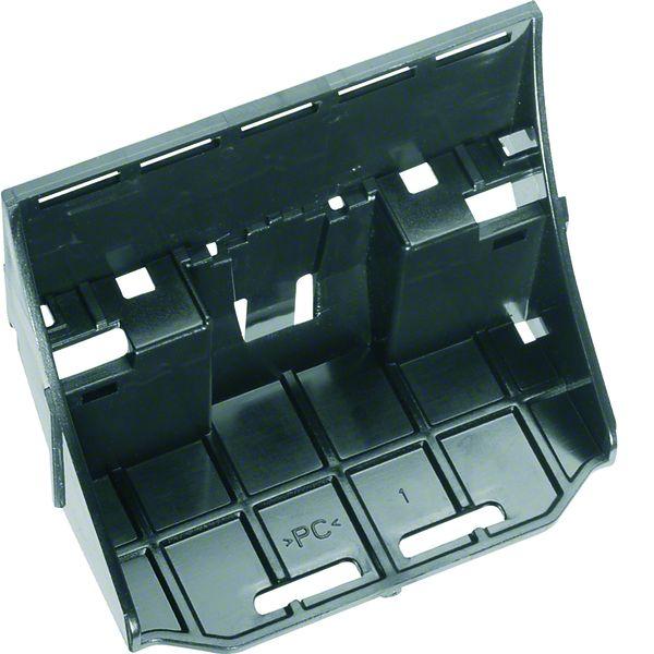 HAGER UZ00K2 Klemmenträger für QC-Klemmen bis 2x18 Klemmstellen