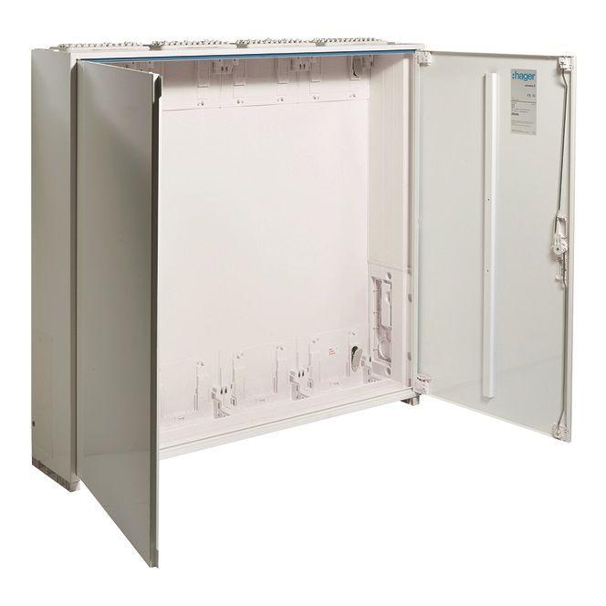 HAGER ZB24S Zählerschrank universZ IP44 SKII 288 PLE Höhe=950mm BxT: 1050x205mm