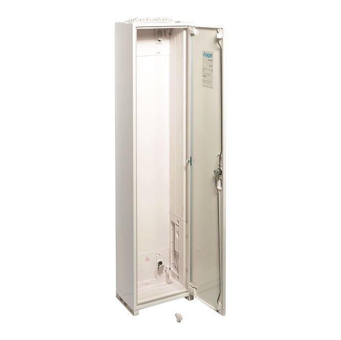 HAGER ZB45W Zählerschrank universZ IP54 SKII 480 PLE Höhe=1250mm BxT: 1300x205mm
