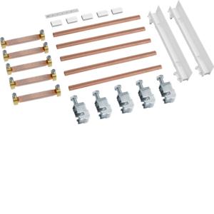 HAGER ZM45S Sammelschienenverbinder Schrank/Schrank universZ 5polig CU 12x5mm, 250A