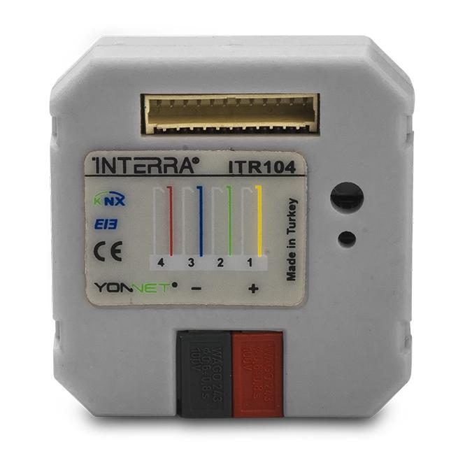 INTERRA ITR104 Tasterschnittstelle  / Tasterinterface 4-fach