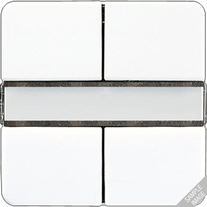 jung 2072 nabs knx tastensensor 2 fach standard f r. Black Bedroom Furniture Sets. Home Design Ideas