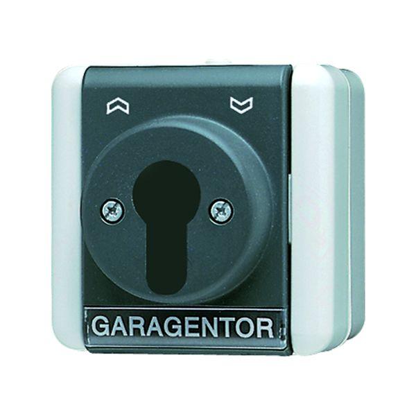 JUNG 806.18W Schlüsselschalter Aus-Wechselschalter