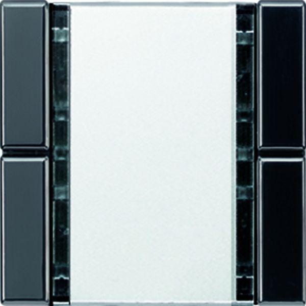 jung a2072nabssw knx tastsensor 2fach schwarz online kaufen im voltus elektro shop. Black Bedroom Furniture Sets. Home Design Ideas